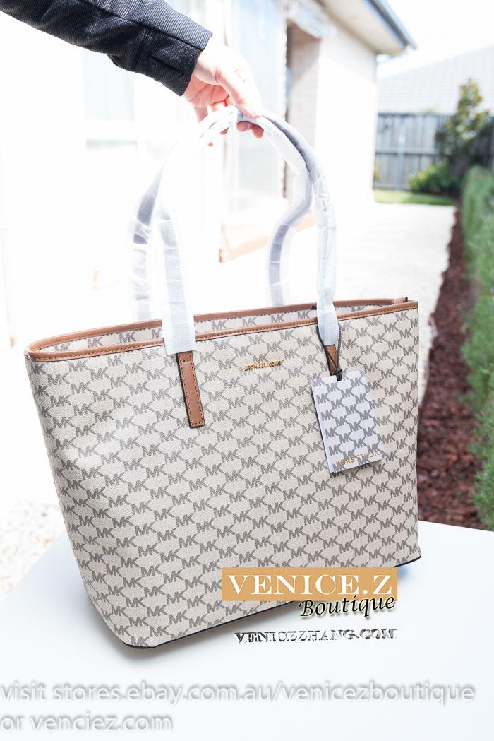 d5a5ddf05cac BNWT USD$328 MICHAEL KORS ERMY Extra Large Shoulder Bag Tote Handbag ...